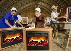 Amish Folk in Their Natural Habitat