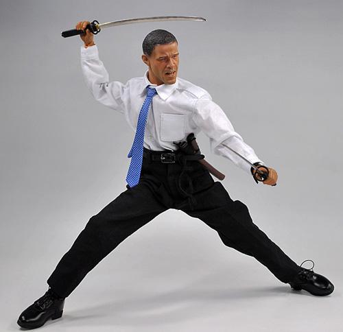 Obama the Ninja